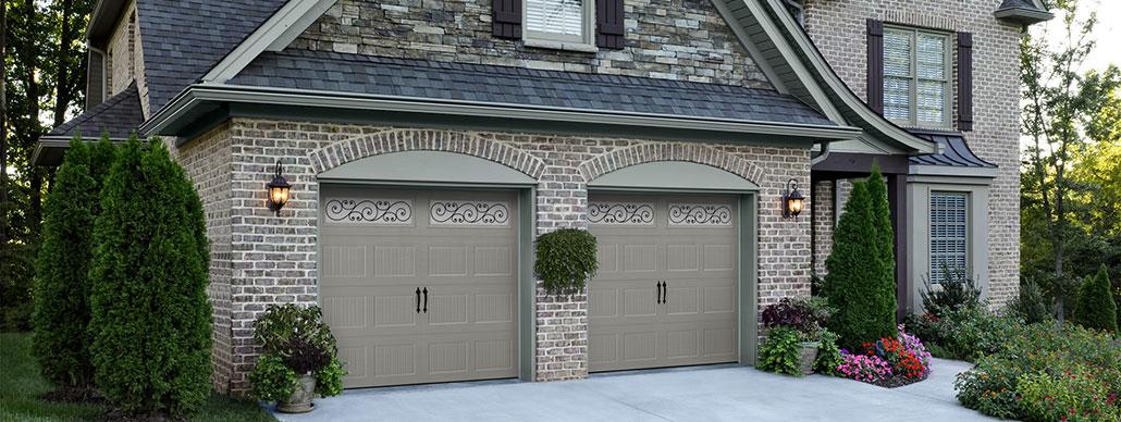 Bead Board Carriage House Garage Door Example 2