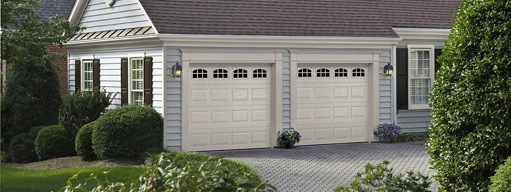 Traditional Steel Garage Door Short Panel Example 12